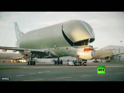 شاهد مراحل تجميع الطائرة الحوت من شركة إيرباص