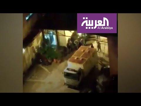 شاهد فيديو مسرب لضرب موقوفين في شاحنة يشعل لبنان