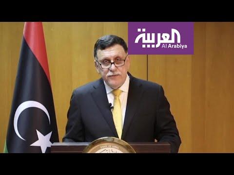 شاهد السراج يعترف بجلب مرتزقة من سورية للقتال ضد الجيش الليبي