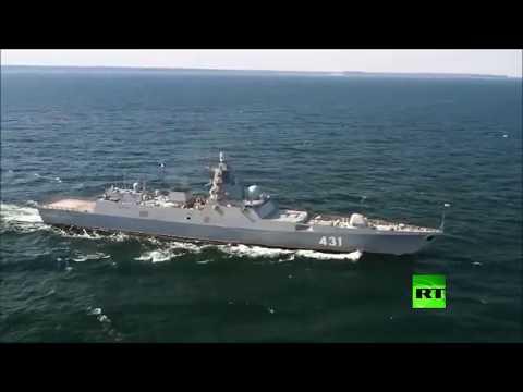 شاهدروسيا تختبر فرقاطة حربية جديدة قبل انضمامها للأسطول الشمالي