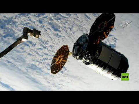 شاهدسفينة شحن تنقل حمولة لمحطة الفضاء الدولية