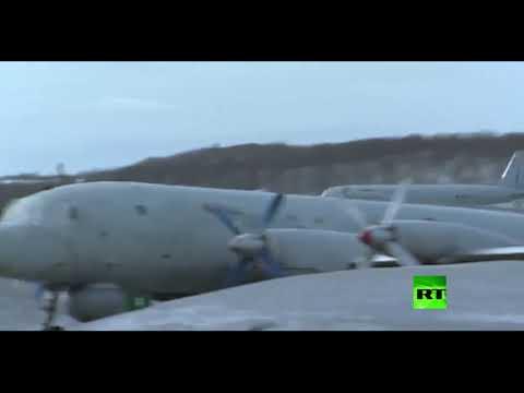 شاهد تحليق طائرات إيل38 المضادة للغواصات