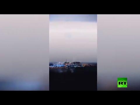 شاهد عاصفة رعدية غير عادية تضرب دبي