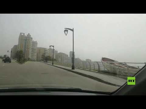 شاهد بيروت التي لا تنام فارغة بسبب كورونا