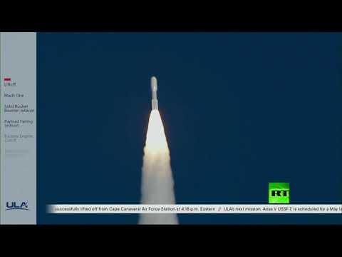 شاهد إطلاق أول قمر صناعي للقوات الفضائية للولايات المتحدة