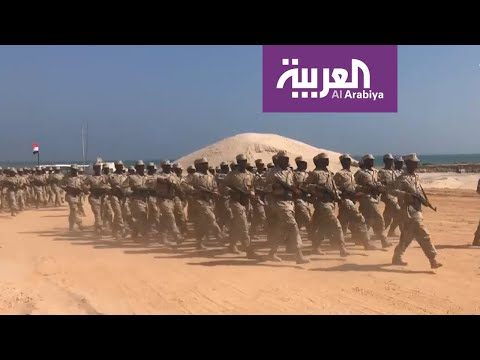 شاهد تحالف دعم الشرعية مستمر في جهود ترسيخ الأمن في المهرة