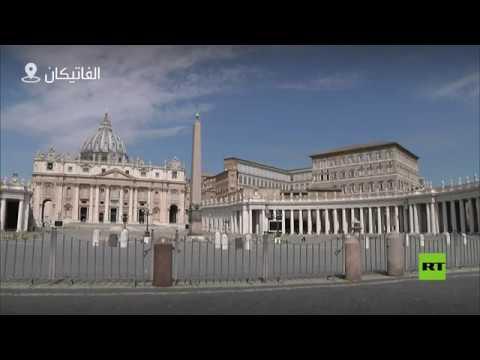 شاهد تجمع المصلين في ساحة القديس بطرس لحضور صلاة الأحد مع البابا فرانسيس