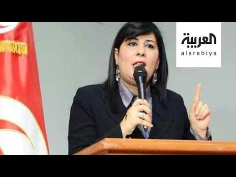 شاهد البرلمانية عبير موسي أموال خارجية تصل لإخوان تونس