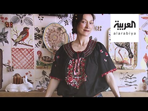 شاهد فنانة تحوِّل كل زاوية في بيتها للوحة فنية خلال الحجر المنزلي