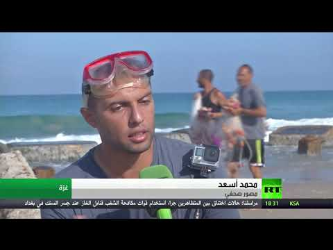 لقطات مميزة للبيئة البحرية في فيلم وثائقي عن قطاع غزة