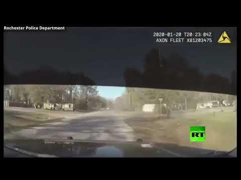 شاهدمطاردة على الطريق السريع تنتهي بطريقة مُثيرة