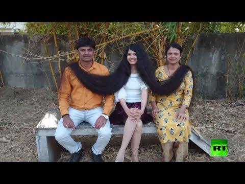 شاهدتعرف على صاحبة أطول شعر في العالم