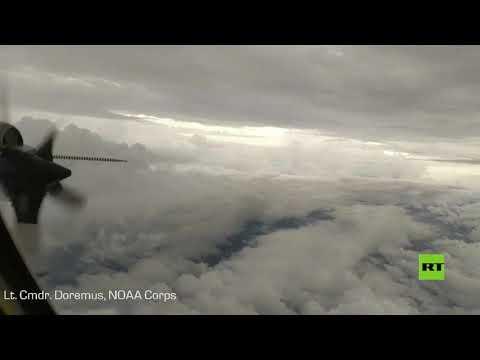 شاهد فيديو جديد من قلب الإعصار أسياس