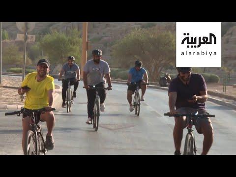 شاهد لماذا انتعش سوق الدراجات في الرياض