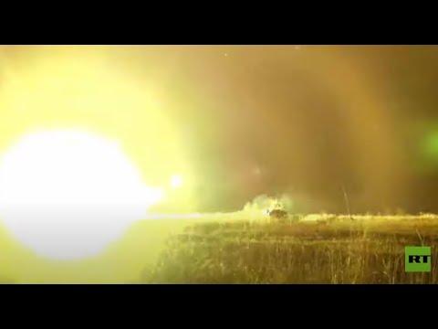 شاهد أجهزة التصوير الحراري تساعد الدبابات على التصدي لهجوم ليلي من الخصم
