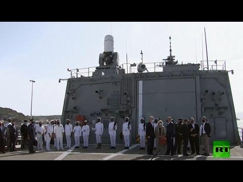شاهد بومبيو يزور قاعدة بحرية أميركية فى جزيرة كريت اليونانية