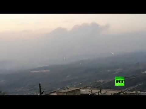 شاهد حرائق تُنذر بكارثة جديدة في سورية ووزير البيئة يصف الوضع بـمأساوي