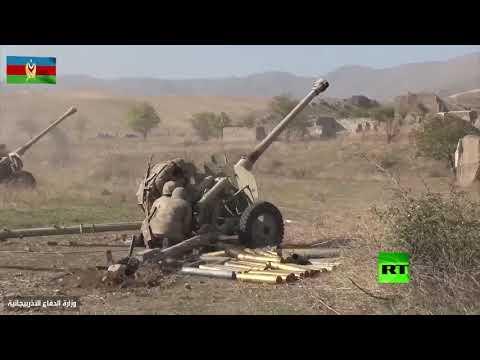 شاهد الدفاع الأذربيجانية تنشر لقطات لاستخدامها المدفعية في معارك قره باغ