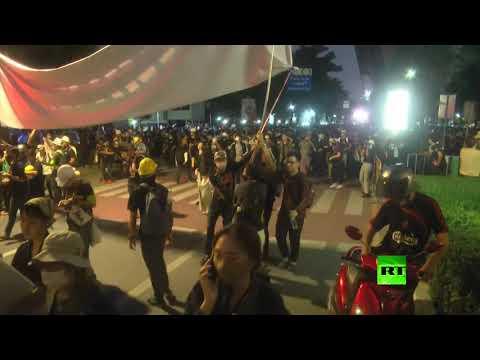شاهد المتظاهرون في تايلاند يمنحنون رئيس الحكومة 3 أيام للتنحي