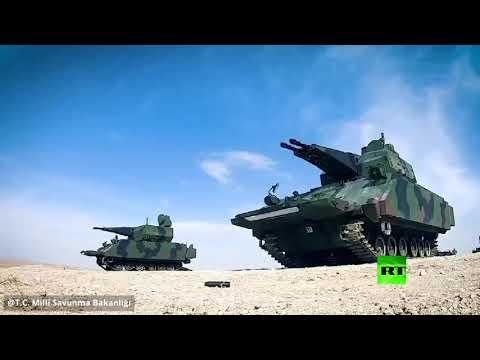 شاهد الدفاع التركية تنشر فيديو من مناورات وشق الأناضول العسكرية