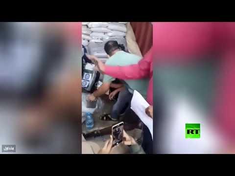 شاهد ضبط 3 أطنان من الحشيش في ميناء عدن ضبط 3 أطنان من الحشيش في ميناء عدن