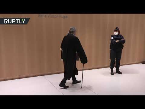 شاهد الرئيس الفرنسي الأسبق نيكولا ساركوزي يُمثّل أمام المحكمة بتهم فساد
