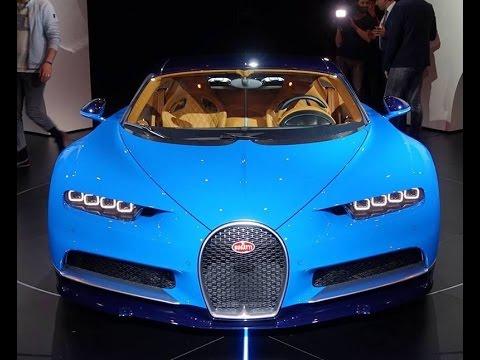 صوت الإمارات - بوغاتي تشيرون bugatti chiron في حدث إطلاقها الرسمي الأول