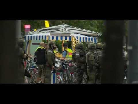صوت الإمارات - بالفيديو انفجار في مطعم يهز أحياء مدينة انسباخ في ألمانيا