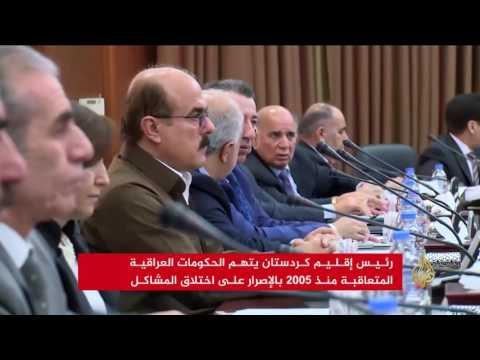 صوت الإمارات - شاهد البارزاني يتهم الحكومات العراقية باختلاق المشاكل