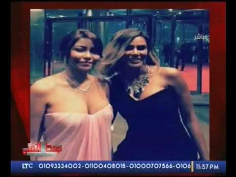 صوت الإمارات - مذيع يهاجم شيرين ويسخر من فستانها في زفاف بلقيس