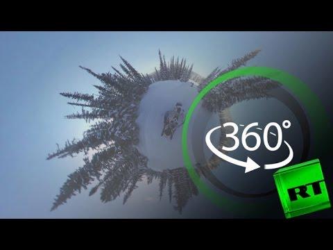 صوت الإمارات - رحلة أخَاذة على مركبات ثلجية في خاكاسيا