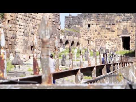 صوت الإمارات - شاهد جولة في مدينة بصرى الشام التاريخية