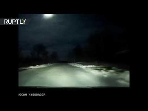 صوت الإمارات - بالفيديو انفجار نيزك في سماء روسيا