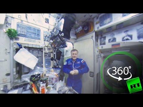 صوت الإمارات - شاهد الاحتفال بالعام الجديد في محطة الفضاء الدولية
