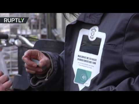 صوت الإمارات - شاهد إطلاق سترة لمساعدة المتسولين في أمستردام