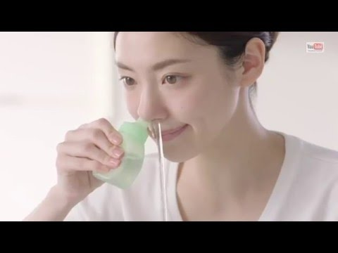 صوت الإمارات - بالفيديو  إعلان ياباني لتنظيف الأنف يثير ضجة على الإنترنت