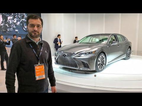صوت الإمارات - شاهد سيارة لكزس ال اس 2018