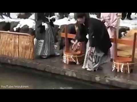 صوت الإمارات - أغرب طقوس طرد الأرواح الشريرة في اليابان