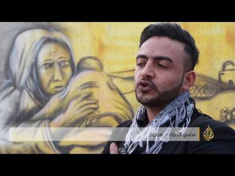 صوت الإمارات - بالفيديو  الفلسطيني سامي الديك يقاوم الاحتلال بـالفن الصمت