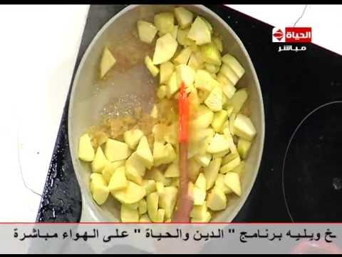 صوت الإمارات - بالفيديو طريقة عمل فطيرة التفاح بالزيت والقرفة