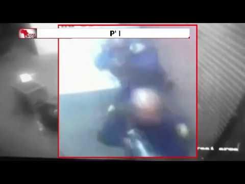 صوت الإمارات - بالفيديو  كاميرا المراقبة تفضح جريمة مقتل شرطي على يد زميله
