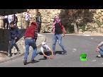 صوت الإمارات - بالفيديو مواجهات بين متظاهرين فلسطينيين والجيش الإسـرائيلي في مدينة الخليل