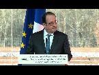صوت الإمارات - شاهد إطلاق نار بالخطأ خلال كلمة الرئيس الفرنسي فرانسوا هولاند
