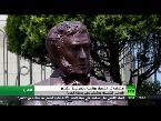 صوت الإمارات - شاهد تدشين تمثال بوشكين في حديقة الحرية في القاهرة