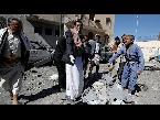 شاهد عشرات القتلى والجرحى في غارة جوية للتحالف على سجن بصنعاء