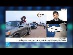 شاهد  وصول دفعة ثانية من القوات الشعبية الموالية للأسد إلى عفرين