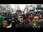 شاهد جزائريون يتظاهرون ضد نتائج الانتخابات