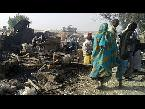 صوت الإمارات - شاهد  عشرات القتلى في قصف جوي ضد مخيم للنازحين